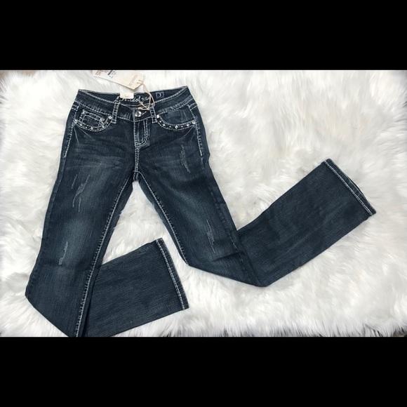 Denim - LA Idol rhinestone jeans